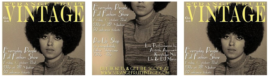 Strange Fruit Vintage Presents: Everyday People