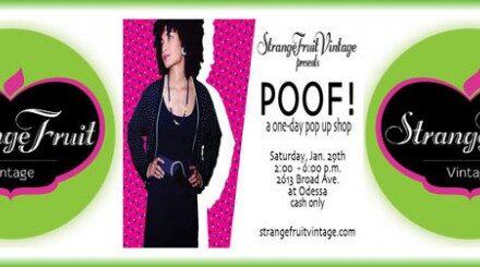 Poof! SFV 1 Day Pop-Up Shop 1/29