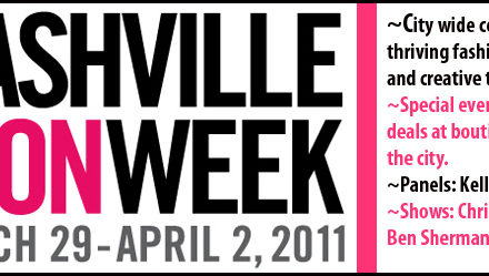 Nashville's Fashion Week kicks off this Tuesday