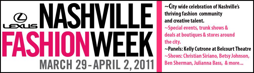 Nashville's Fashion Week kicks off this Tuesday