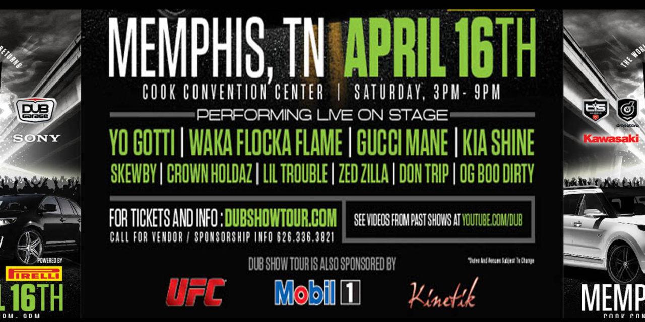 Let's Ride: DUB Car Show hits Memphis 4/16