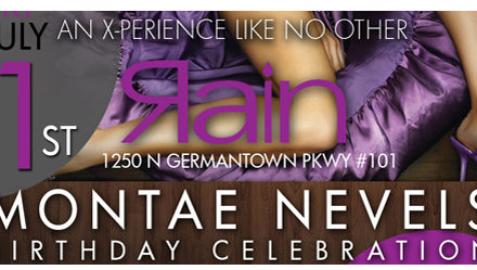"""The One"" Montae Nevels Birthday Edition 07.01.2011 @ Rain Sushi Bar"