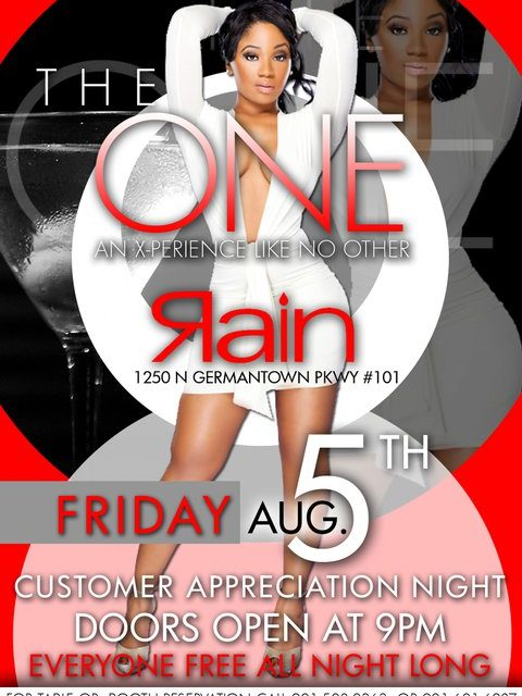 """The One"" Customer Appreciation Night (Free Admission For EVERYONE)"