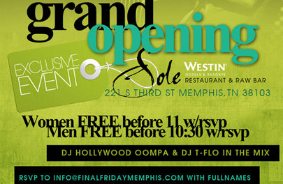 The Grand Opening of Final Friday Memphis