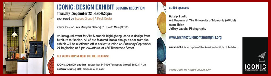 Iconic: Design Exhibition and Auction 9.24.11