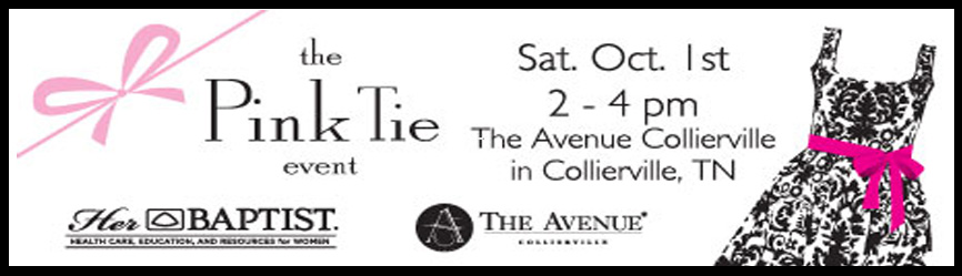 The Pink Tie Event at The Avenue Collierville 10.1.11