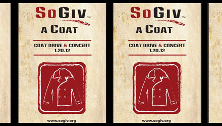 SoGiv A Coat: Coat Drive and Benefit Concert 1.20.12