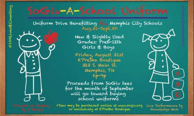 SoGiv-A-School Uniform Drive 8.31.12