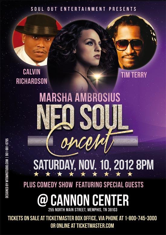 Marsha Ambrosius Neo Soul Concret 11 10 2012 | NDLoop