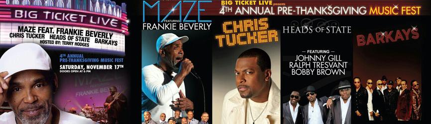 The 4th Annual Pre-Thanksgiving Music Fest 11.17.2012