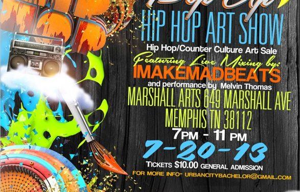 #UCB Pop Up Hip-Hop Art Show 7.20.13