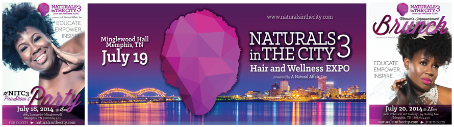 The Naturals in the City Hair & Wellness Expo 7/18 – 7/20