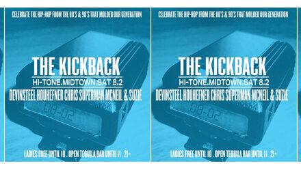 The #KickBack at The Hi-Tone 8.2.14