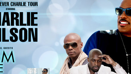 Charlie Wilson with Kem Featuring Joe  Forever Charlie Tour 3/20