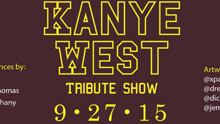 Urban City Bachelor Presents: The Kanye West Tribute Show 9/27