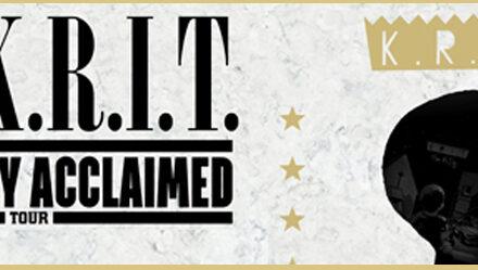 Big K.R.I.T. Kritically Acclaimed Tour 12/3