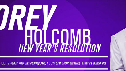 New Year's Resolution with Corey Holcomb 1/8 – 1/10