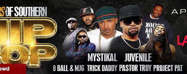 Legends Of Southern Hip Hop at Landers Center 4/2
