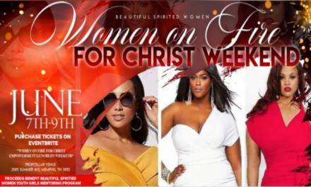 Women On Fire For Christ Empowerment Luncheon Weekend